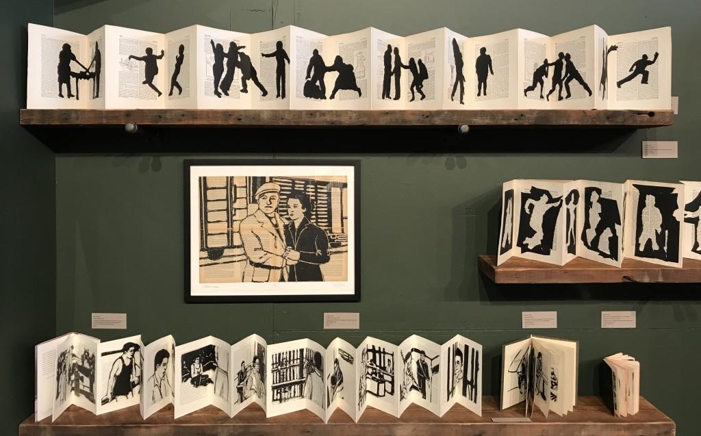 Poppy Dully, Books & Boxes Exhibit